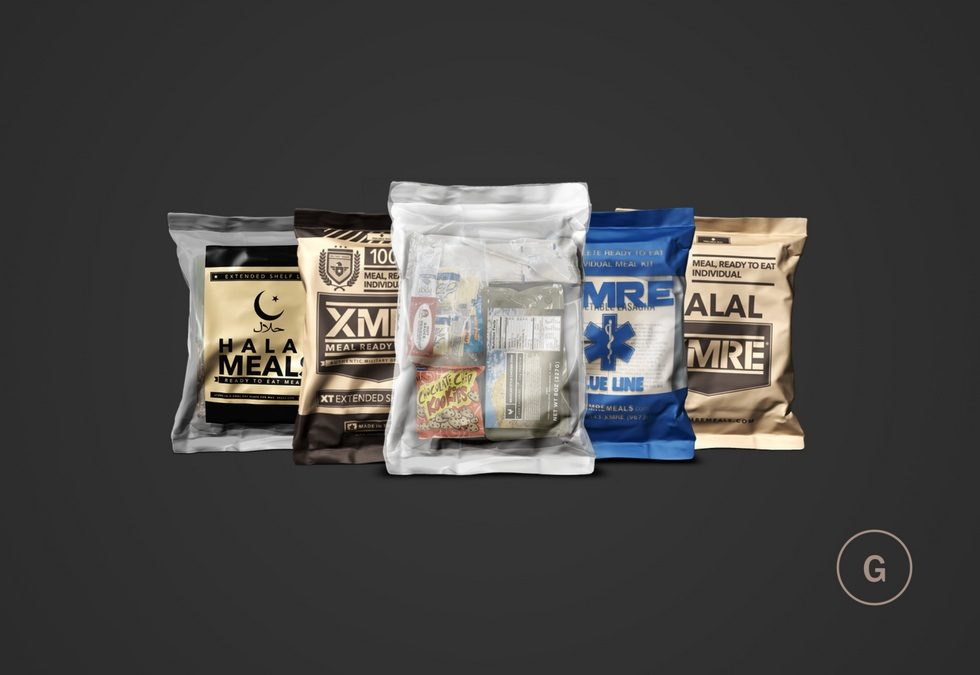Variations Of MRE Meals