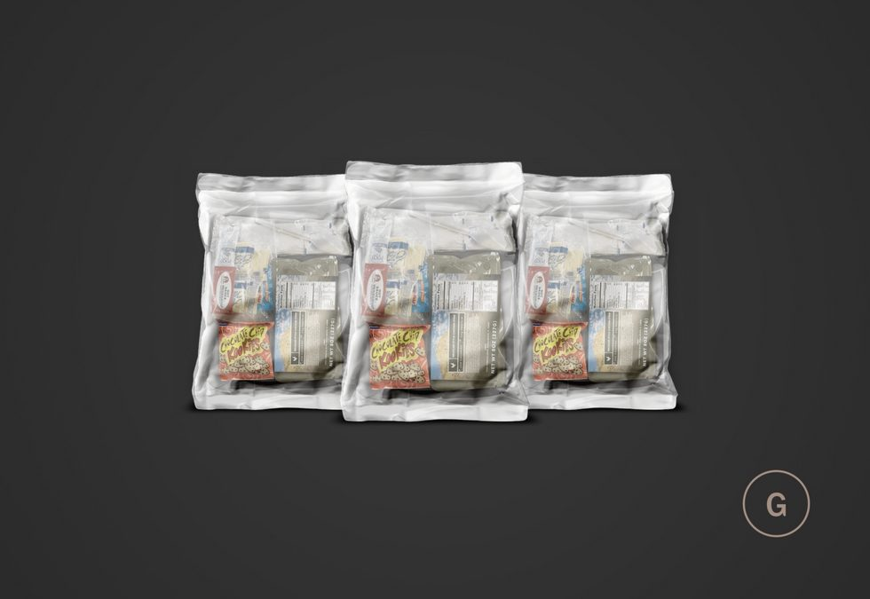 MRE Meals And What They Are Made Of